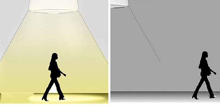 схема работы светильника с датчиком