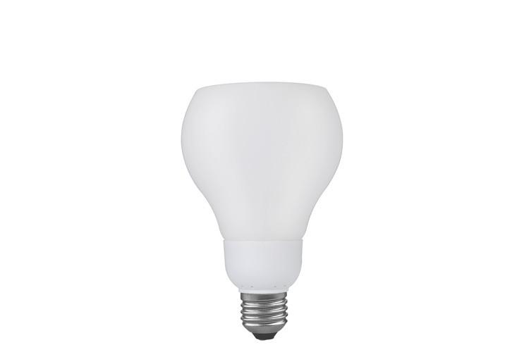 89236 Лампа энергосберегающая DecoShape R3 опал 11W E27 2700К теплый белый Paulmann