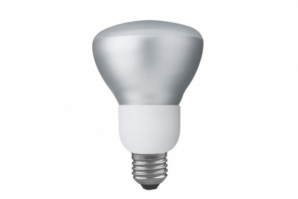 89230 Лампа энергосберегающая рефлекторная R80, E27, 2700К теплый тон 9W Paulmann
