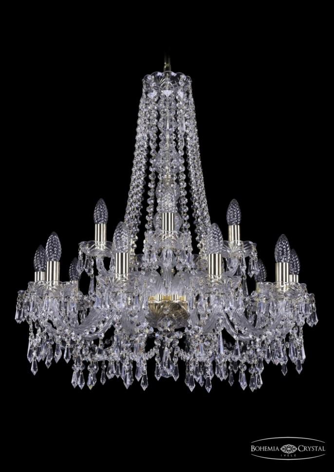 1403/10+5/240/h-76/G Подвесная люстра Bohemia Ivele Crystal фото