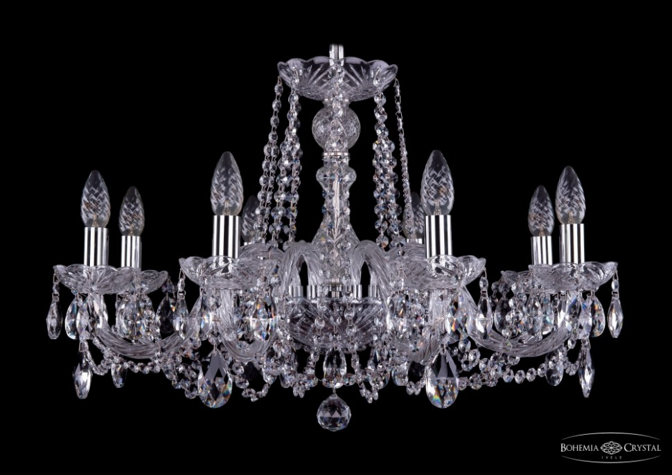 1402/8/240/Ni Подвесная люстра Bohemia Ivele Crystal фото