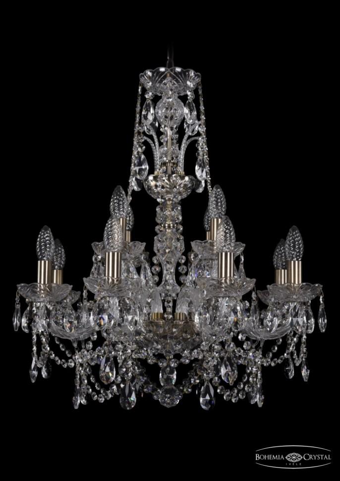 1411/8+4/195/XL-65/Pa Подвесная люстра Bohemia Ivele Crystal фото