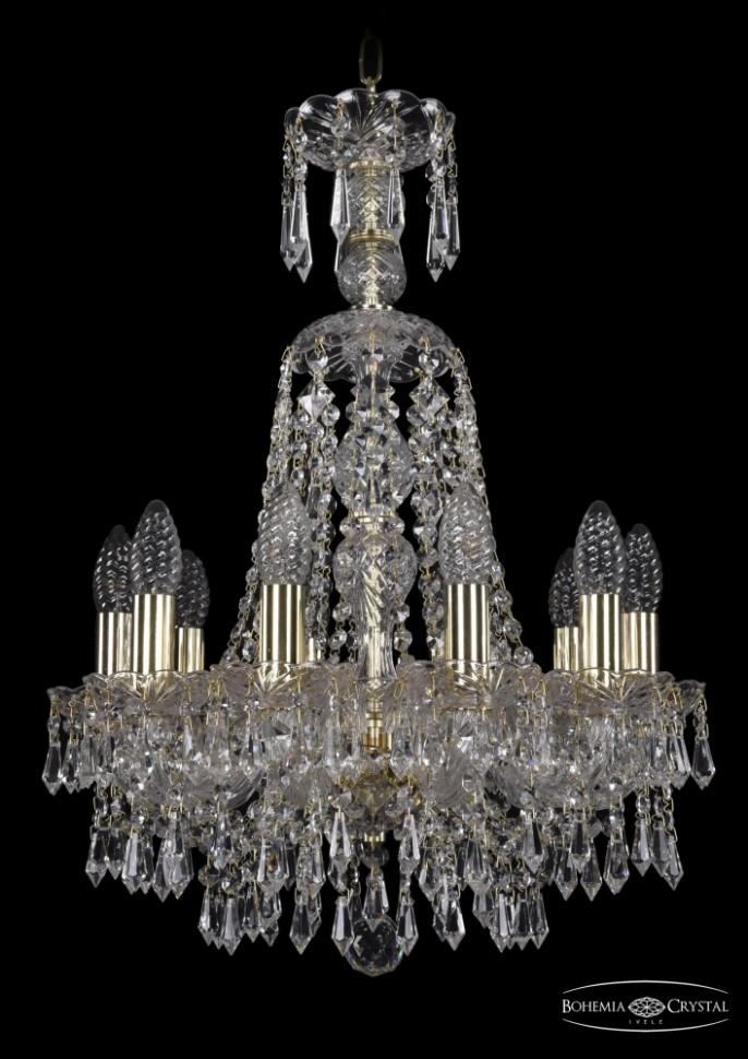 1403/10/141/XL-61/G Подвесная люстра Bohemia Ivele Crystal фото