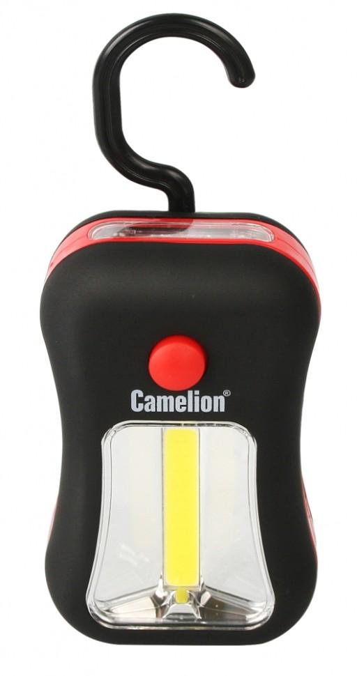 Автомобильный светодиодный фонарь на батарейках. Дистанция освещения 20м. 2 режима работы.Сamelion LED51520 (13364)
