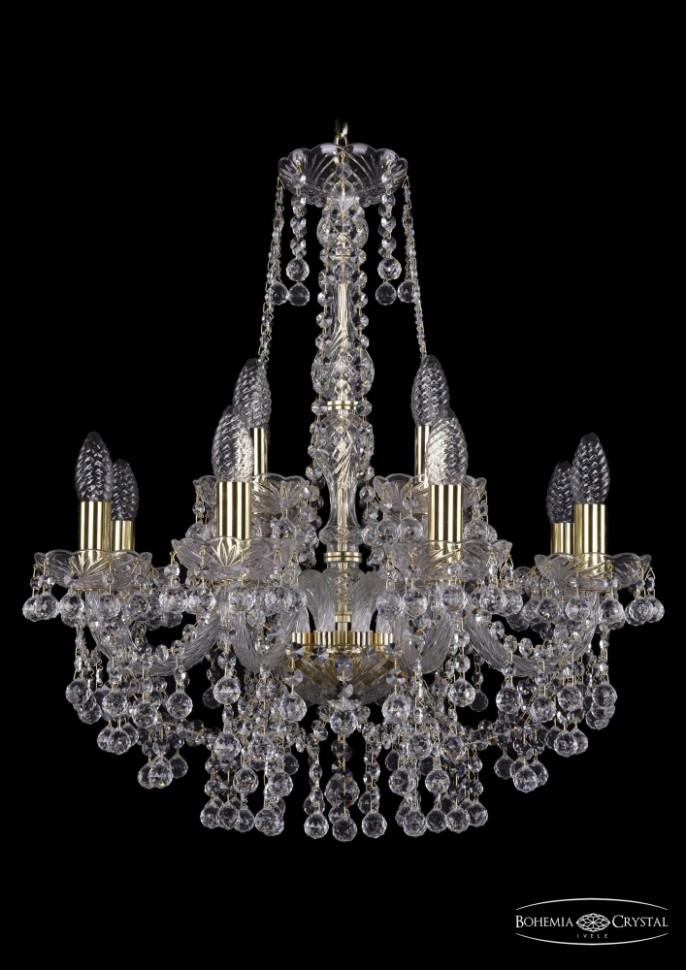 1409/8+4/195/h-62/G Подвесная люстра Bohemia Ivele Crystal фото