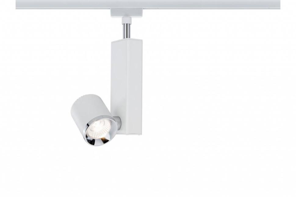 Однофазный LED светильник 8W 2700К для трека URail Paulmann TecLed 95208.
