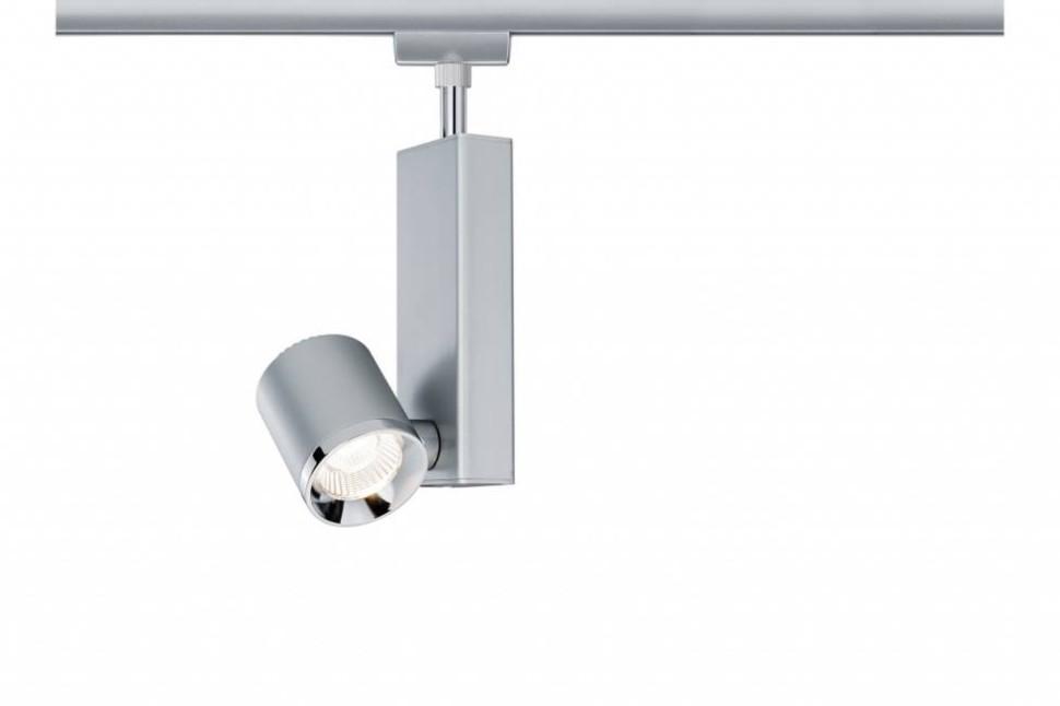 Однофазный LED светильник 8W 2700К для трека URail Paulmann TecLed 95206.