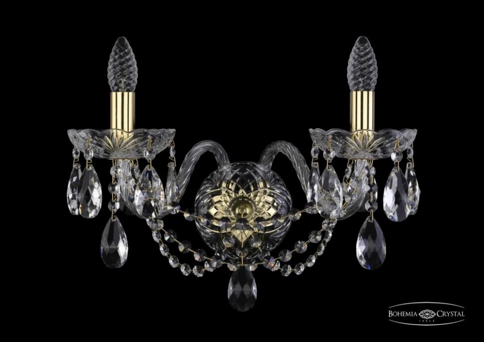 1406B/2/195/XL/G Бра Bohemia Ivele Crystal фото