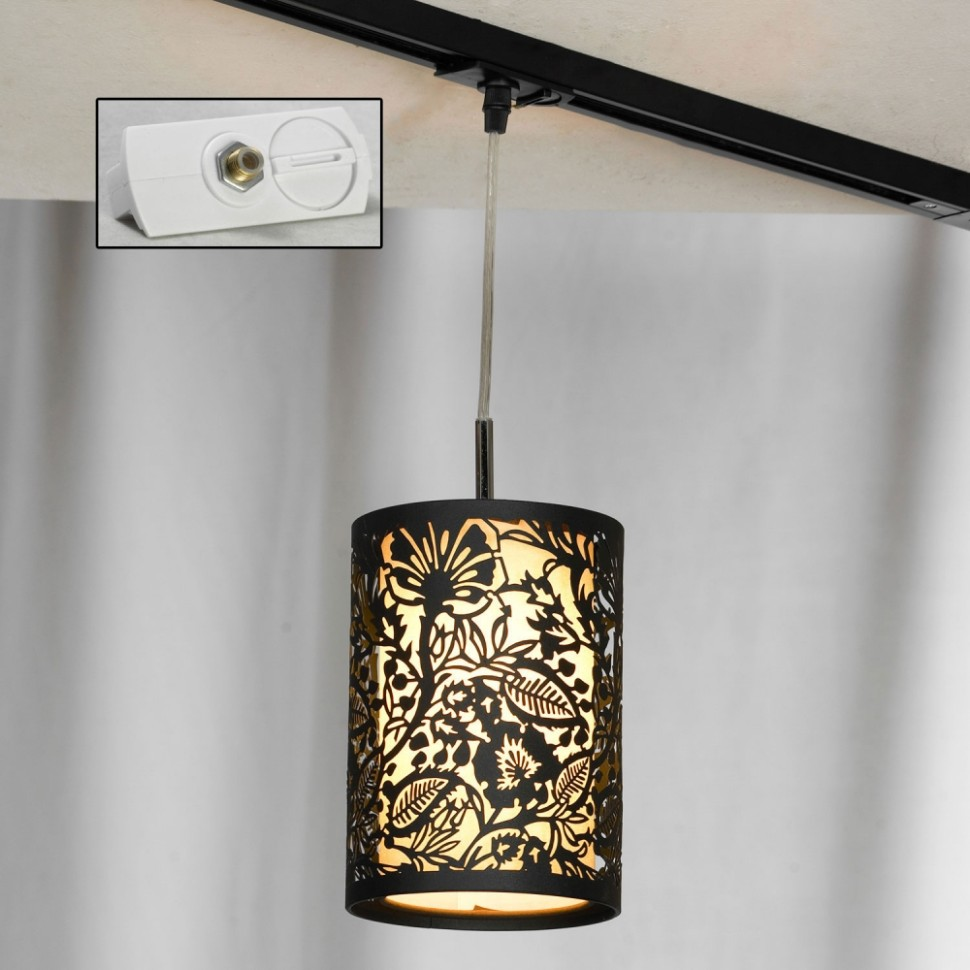 Однофазный светильник для трека Lussole Loft Vetere LSF-2376-01-TAW