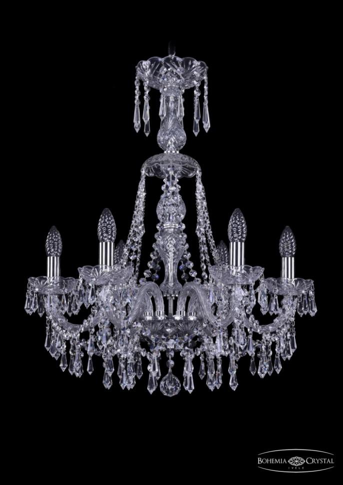 1403/6/195/XL-65/Ni Подвесная люстра Bohemia Ivele Crystal фото