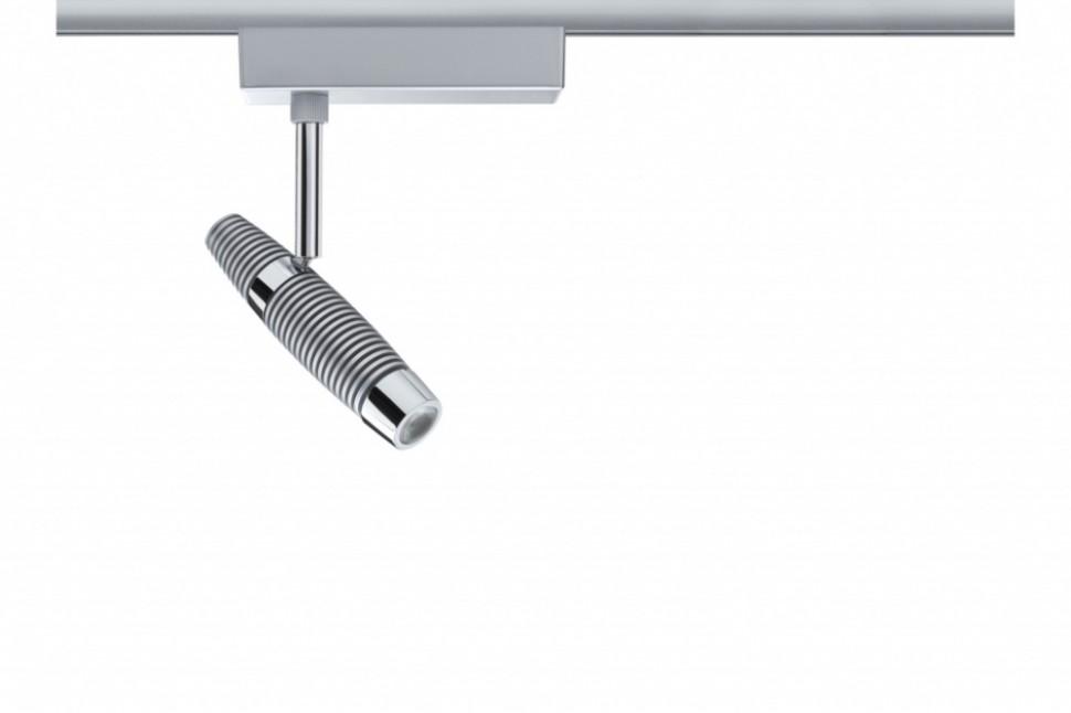Однофазный LED светильник 10W 3000К для трека URail Paulmann Channel 95111.