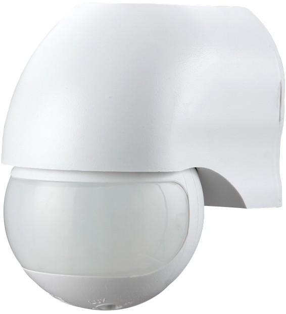LX-454/Wl Электронный сенсор включения освещения,настенный,180° Camelion, белый (10979)