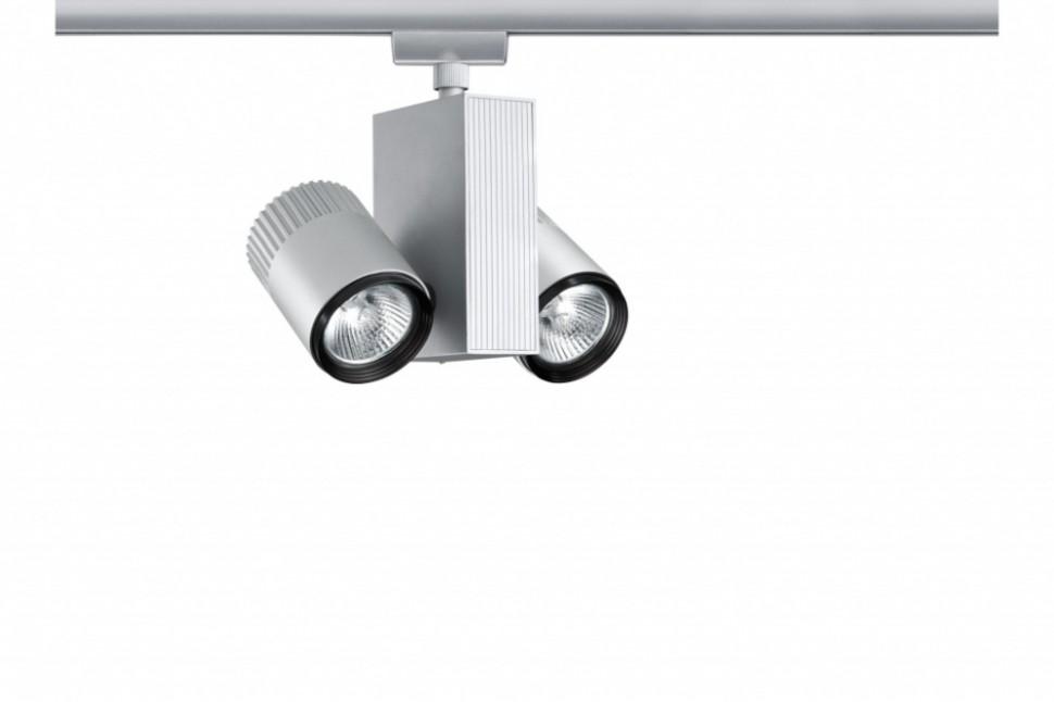 Однофазный  светильник для трека URail Paulmann Tecno 95090.