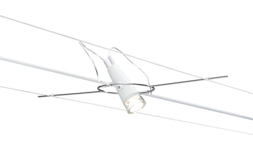 Светильник для струны LED 12V 3W 2700К Paulmann AirLed Drum 94101.