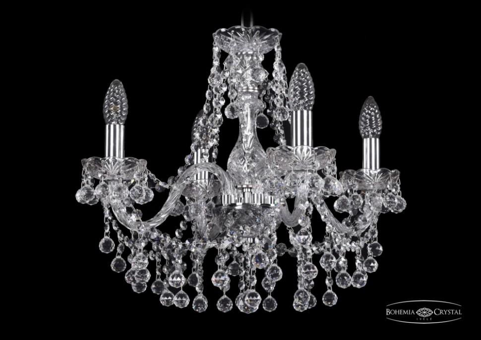 1409/4/160/Ni Подвесная люстра Bohemia Ivele Crystal фото