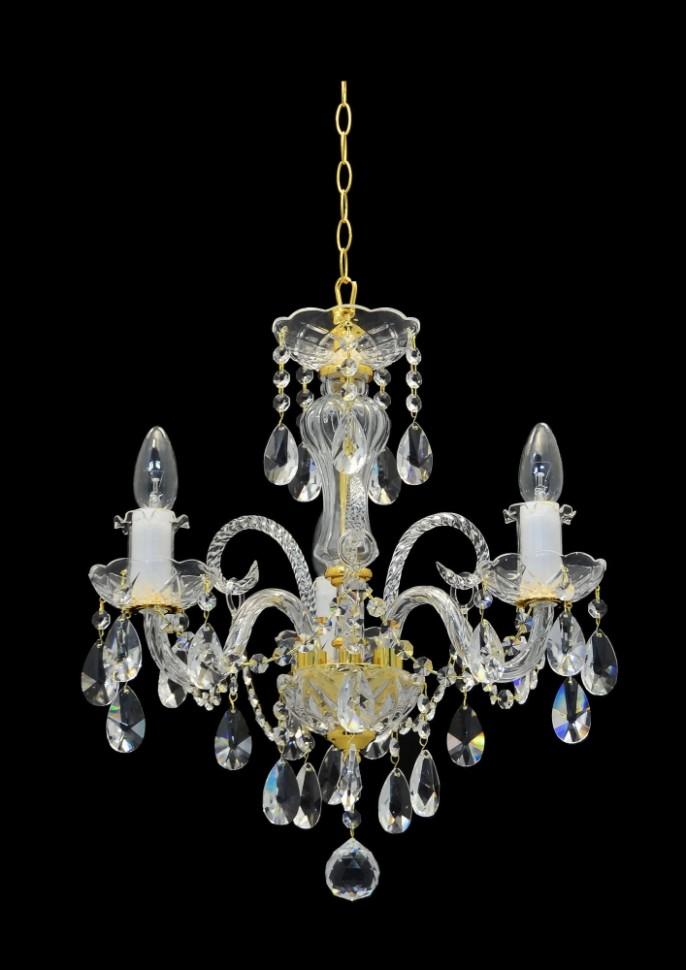 Подвесная люстра с хрусталем Artis Luce Murano glass 93301 фото