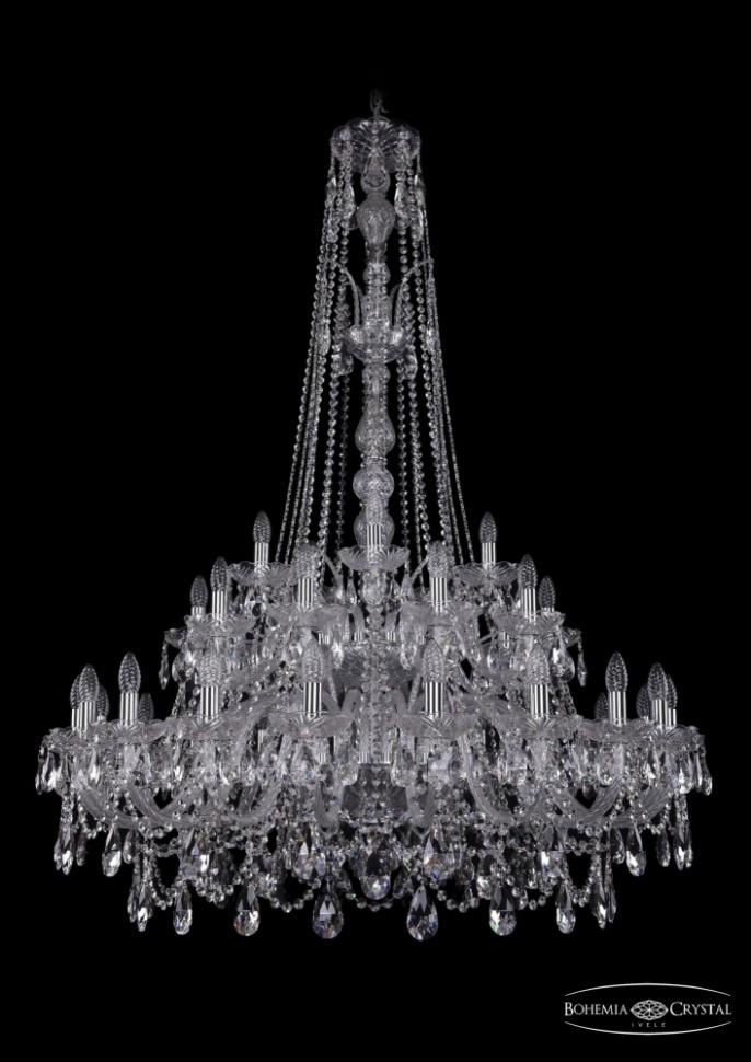 Купить 1411/20+10+5/400/XL-155/2d/Ni Подвесная люстра Bohemia Ivele Crystal