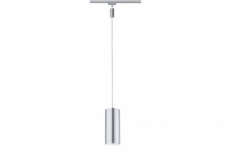 Однофазный LED светильник 6W 2700К для трека URail Paulmann Barrel 95177.