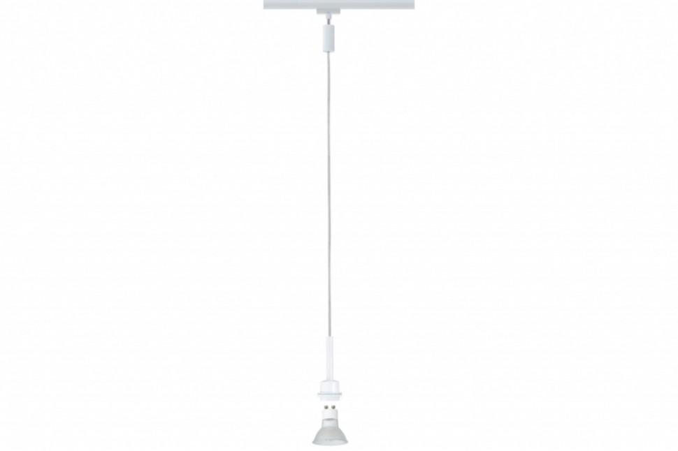 Однофазный светильник для трека URail Paulmann Pendel 95185.