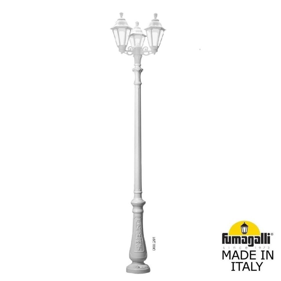 Парковый фонарь Fumagalli NEBO BISSO/Rut 3L E26.202.S30.WXF1R.