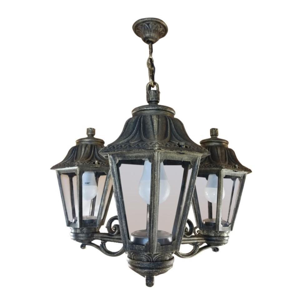 E22.120.S30.BXF1R Уличный подвесной светильник Fumagalli Sichem/Anna 3L фото