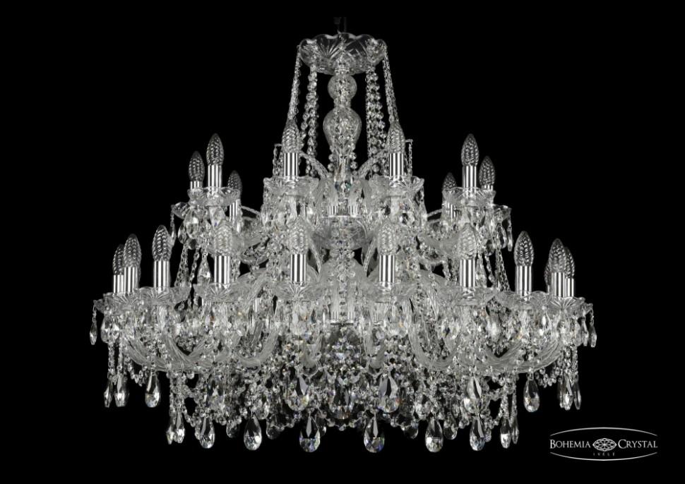 Купить 1411/20+10/360/2d/Ni Подвесная люстра Bohemia Ivele Crystal