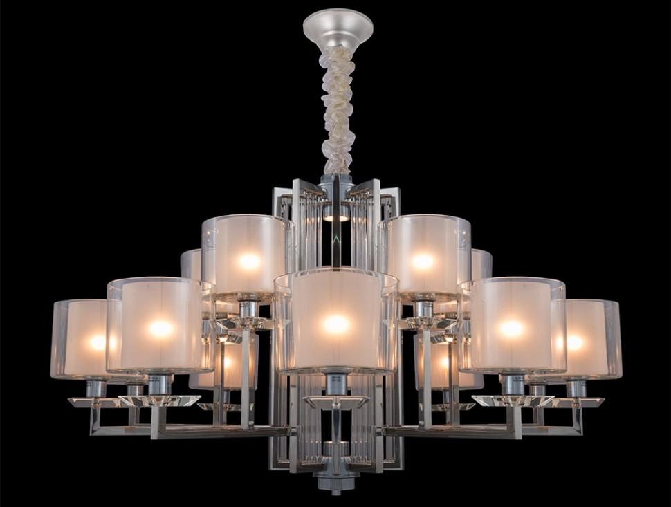4410+5/C Подвесная люстра со светодиодной подсветкой Newport М0057161