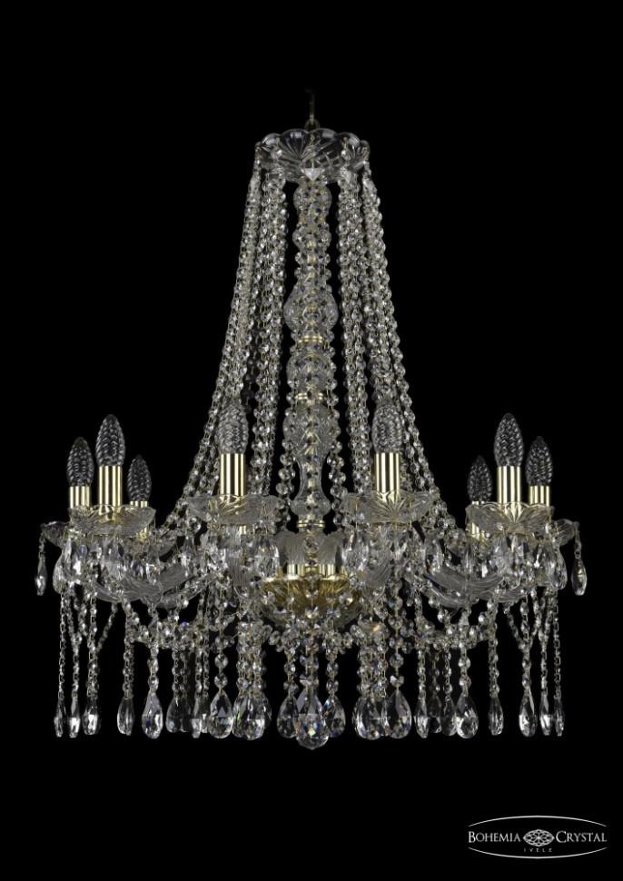 1413/10/220/h-76/G Подвесная люстра Bohemia Ivele Crystal фото