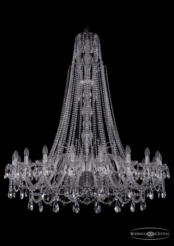 Купить 1411/20/460/XL-154/Ni Подвесная люстра Bohemia Ivele Crystal