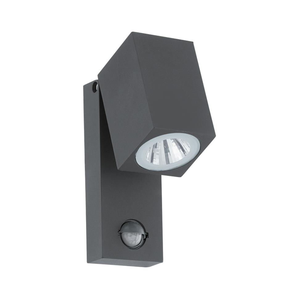 96287 Уличный настенный светодиодный светильник с датчиком движения Eglo Sakeda