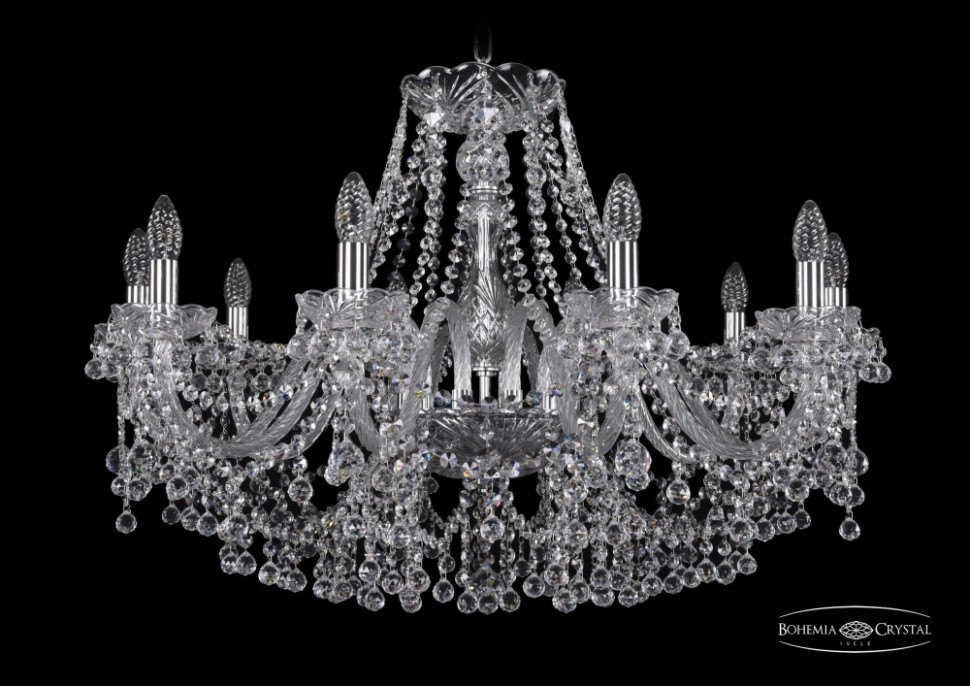 1409/10/300/Ni Подвесная люстра Bohemia Ivele Crystal фото