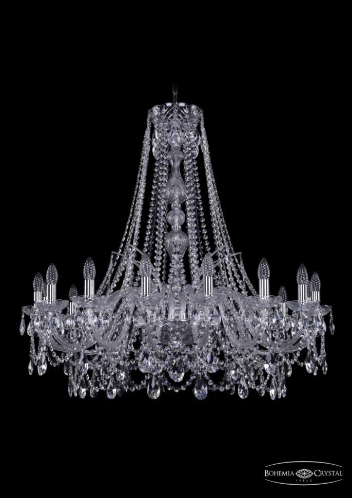 Купить 1411/16/360/h-95/Ni Подвесная люстра Bohemia Ivele Crystal