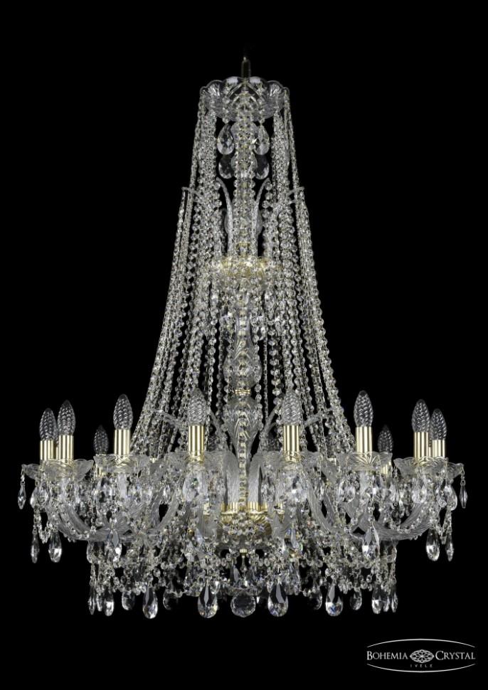 Купить 1411/16/300/XL-108/G Подвесная люстра Bohemia Ivele Crystal