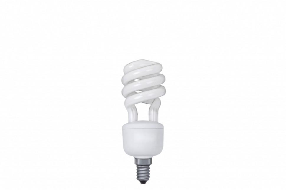 89436 Лампа энергосберегающая, спираль 11W E14 2700К теплый белый, экстра Paulmann