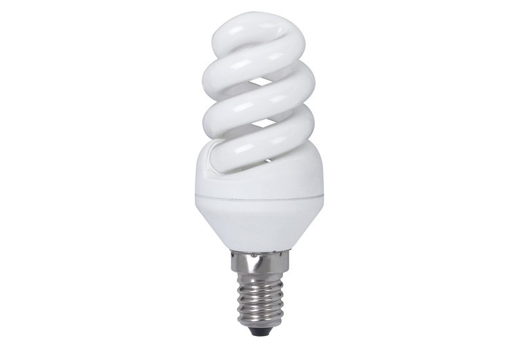 89435 Лампа энергосберегающая, спираль 7W E14 2700К теплый белый, экстра Paulmann